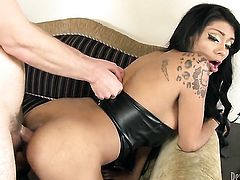 Wolf Hudson wants to drill amazingly hot Natalie Foxxs neat snatch forever
