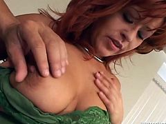 THis slutty MILF just loves a big sized cocks sticke in her mouth and in her wet pussy.Watch her getting banged really hard in Fame Digital sex clips.
