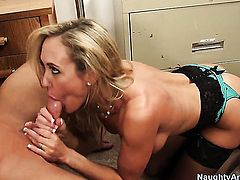 Brandi Love spends time fucking with hard dicked fuck buddy Bill Bailey