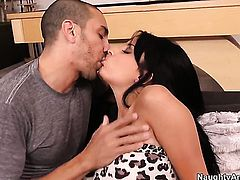 Marco Rivera cant resist sex starved Anissa Kates acttraction and bangs her like crazy