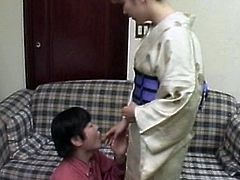 Sweet japanese dolls are having naughty pleasures along hunks eager to fuck