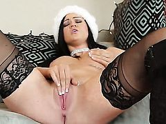 Kendall Karson has a lot of sexual energy to spend in anal solo action