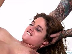 This naughty gal needs a good pussy workout. Spoiled brunette gets her pussy fisted and fucked hard like never before. Just look how hot and sexy this chick is.