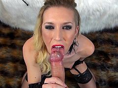 American beauty Maia Davis was fucked in her mouth
