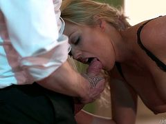 Holly Kiss and Pascal White are two gorgeous MILFs. They suck massive cock and get their hot pussies fucked in close-up scenes.