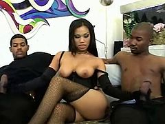 Sexy Asian Luci Thai Gets Invaded By Two BBC 420