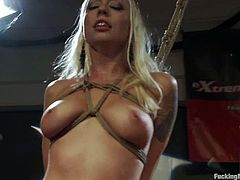 Some smoking hot and naughty babes love it with a fucking machine. But some love it with machine in a fetish style. This is a wild BDSM to watch!