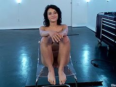 Aiden Starr wants to find out what will happen from a dozen of wires