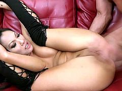 The brunette girl int his video will give Asa Akira pleasure while the Asian slut sucks cock and before the Oriental beauty gets fucked amazingly.