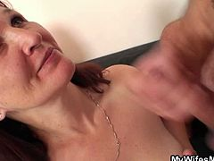 Granny gets fucked by son in law as her daughter watches on the side. There is nothing more she wants today but to savor his tasty and fresh cum like there is no stopping the fun at all.