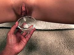 This reality video has one sweet little creampie for this bitch. She likes to fuck and is having a seriously good time with this guy