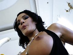 Milla Yul gets orally fucked by Omar Galanti s meaty mouth stretcher before she gets assfucked