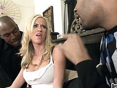 Kaylee Hilton takes dick so fucking deep after warm-up in interracial hardcore action