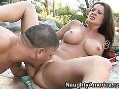 Alex Gonz bangs fuck crazed Raquel Devines pussy in every sex positon