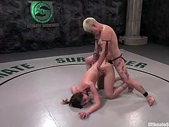 Syd Blakovich is a great fighter but in this season she has a slow start. That is why she stuffs Amber's ass deep and hard after getting a victory.