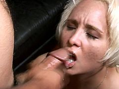 She was so hungry that day that Sophia Mounds just needed to get a huge cock in her vagina! The seduction was pretty aggressive, but productive as well!