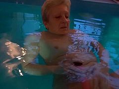 Watch this old granny penetrating her not so tight but still wet pussy with her plastic sex toy in Old Nanny sex clips.