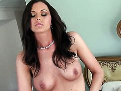 Paxton Lane has a good time toying her fuck hole