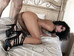 Tia Cyrus gets her mouth fucked good and hard