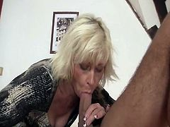 Mine blonde mother in law seduces me inside xxx