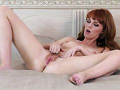 Marie McCray does her best to make herself orgasm