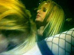 Awesome blonde sluts with big tits and astonishing bodies love feeling toys deep in their super tight asses, so enjoy watching them have hot anal fun.