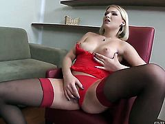 Lucy Heart and Nina Clark are so fucking horny in this girl-on-girl action