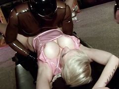 Insolent Sofia Valentine is a true slut when it comes to fucking and sucking in BDSM