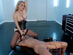 Sexy Maia Davis gets her hot pussy wired by Aiden Starr
