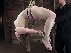 That's so fucking hard to stand, but Sabrina Wolf is a strong bitch that can stand any kind of refined humiliation! Pain is something abstract!