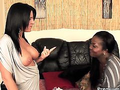 Kendra Secrets and Aryana Starr are lesbian love birds that do it with passion