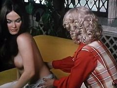 The Classic Porn site offers you hot and provocative lesbian sex video for free. Beautiful brunette babe enjoys pussy eating by one seductive blonde.