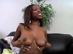Trials with some hottest ebony babes for a new video