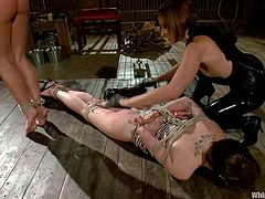Maitresse Madeline is so happy to torture two babes at a time