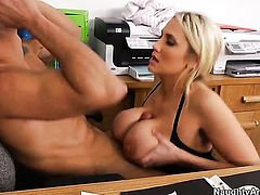 Marco Rivera fucks breathtakingly hot Alanah Raes cunt in every position