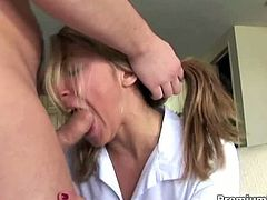 Choked and gapped mouth whore perform hardest deepthroat ever! Roxy Jezel knows how to suck it and gets a nice jizzload allover her face!