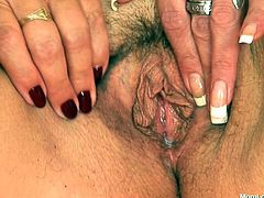 One plays the guitar and the other one handles the dildos. Pretty interesting, right? Why not check out these filthy mom whores and see what they are up to! Vratislava and Lilie are two saggy cunts that love to show us how dirty they can get. Enjoy seeing how they gape their unshaved cunts and fuck.