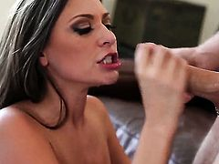Victoria Lawson spends her sexual energy with rock solid love stick in her mouth