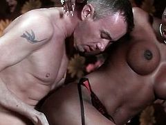 Amazingly hot dark skinned ebony beauty gets her black cunt fucked by white dick from behind. Ebony goddess rides that cock on top reaching orgasms over and over again!