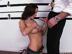 Amy Ried loved her friend's large cock in her pussy