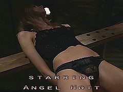 Angel Hot is just a new piece of body ready to be used for fetishes games.  Whipping and spanking under domination her young fresh body is really exciting.  Her soft mouth is not bad as a sucking cocks tool.