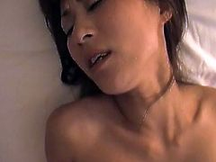 See this blindfolded Asian beauty gets her hairy pussy screwed. Lucky guy is ready to destroy her hairy cunt with his cock and sticks it ballsdeep like a champ.