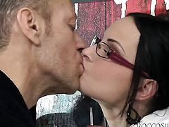 Abbie Cat and Rocco Siffredi have wild anal sex on camera for you to watch and enjoy before oral job