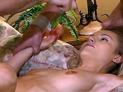 Extreme hardcore Sex- three dudes vs one sexy slut and gets two dicks in the same time in this video. Watch her get off with two huge dicks in her face and getting fucked in various positions
