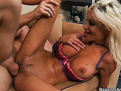 Puma Swede gets her beaver slammed with no mercy by Danny Wylde