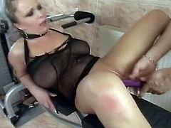 Chubby blonde Jessica Moore favours her man with a deepthroat blowjob. Then she lets the dude finger her pink cave and stuff it with thong. After that she stands on all fours and gets her ass smashed.