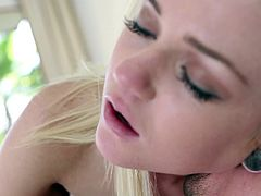 Insolent Chloe Foster screams of pleasure by having her cramped cunt fucked like never before