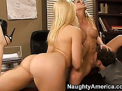 James Deen attacks gorgeous Kagney Linn KarterS love tunnel with his love torpedo