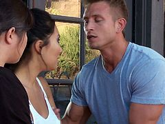 Asa Akira quarrels with her boyfriend and feels bad