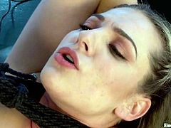 Get a load of this hot bondage femdom scene where these horny blondes torture and please one another in this great clip.